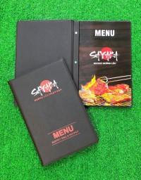 Bìa menu da bắt vít