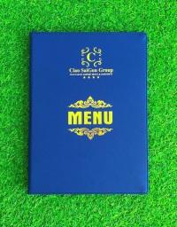 Bìa menu da cao cấp