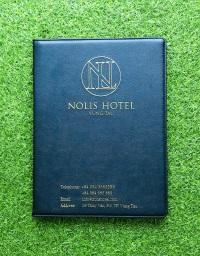 Bìa menu da khách sạn