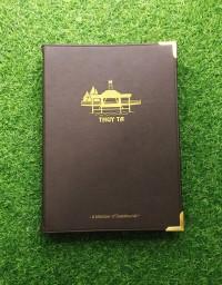Bìa menu da nẹp góc