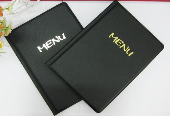 Tại sao menu bìa da được ưu tiên lựa chọn?