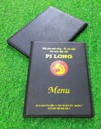 Quyển menu bìa da