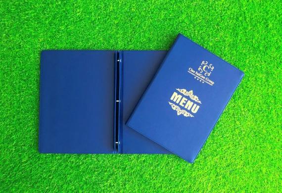 4 mẫu bìa menu da tiện lợi và sang trọng nhất